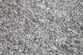 Natural Gray Granite Stone Closeup Background Texture