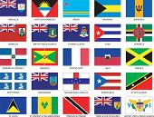 25 Caribbean Flags