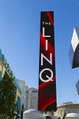The Linq Corridor Sign In Las Vegas, Nv On January 04, 2014