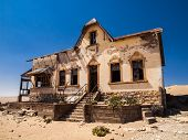 Quartermaster's House In Kolmanskop Ghost Town