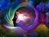 stock photo of metaphysical  - Geometry of the Soul series two - JPG