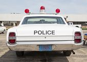 1968 Ford Galaxie Milwaukee Police Car Rear View