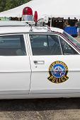 1968 Ford Galaxie Milwaukee Police Car Emblem