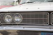 1968 Ford Galaxie Milwaukee Police Car Headlights