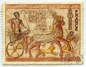 Stamp from France Ramses