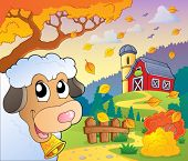Autumn farm theme 6 - eps10 vector illustration.