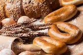 stock photo of bagel  - Bakery - JPG