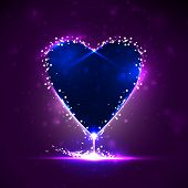 Futuristic heart