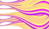 Yellow And Purple Vector Abstract Lines