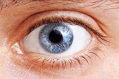 Olhos do homem