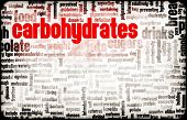 image of carbohydrate  - Carbohydrates Weight Loss Concept with Removing It - JPG