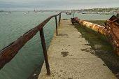 Rusty Handrail, Holyhead