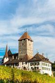 Spiez Castle  Jungfrau region, Canton Bern, Switzerland