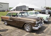 1955 Chevy Bel Air Copper Side View