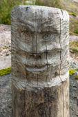 Totem Pole Face