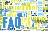 stock photo of faq  - FAQ or Frequently Asked Questions Online Art - JPG