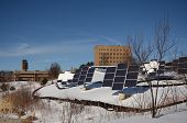 Solar Panels At The University Of Michigan