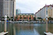 Small Apartment Building And Marina