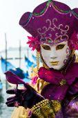 mask in Venice Italy.