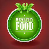Healthy Food Green Plate