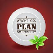 Weight Loss Plan Plate