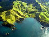 Aerial View of the Northland Coastline, New Zealand