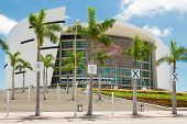 MIAMI,USA - MAY 27,2014 : The American Airlines Arena, home of the Miami Heat professional basketbal