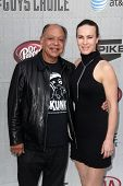 LOS ANGELES - JUN 7:  Cheech Marin, wife at the Spike TV's