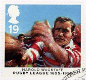 Harold Wagstaff Stamp