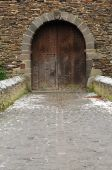 Gate In A Medieval Castle poster