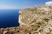 Cliffs in Malta
