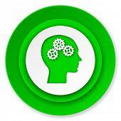 head icon, human head sign