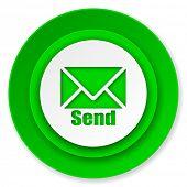 send icon, post sign