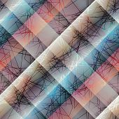 Diagonal abstract pattern with lines