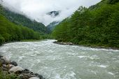 Firtina River in Northern Turkey