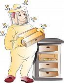 Beekeeper, Illustration