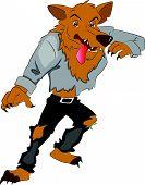Vector Of Werewolf.