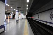 Subway Station In Istanbul