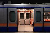 Wagon Train In Subway