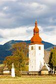 fortified church in Liptovske Matiasovce, Slovakia