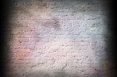 Old Rough Brick Wall