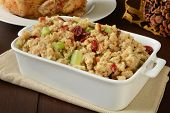 Chicken Stuffing With Cranberry