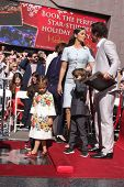 LOS ANGELES - NOV 17:  Matthew McConaughey, Camila Alves McConaughey, Vida, Levi, Livingston at the Matthew's  Hollywood WOF Star Ceremony onHollywood Blvd on November 17, 2014 in Los Angeles, CA