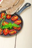 Baked Cherry Tomatoes With Basil And Thyme