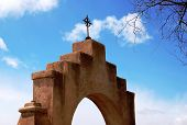 Arch and Cross of a Mission