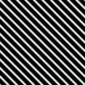 Black And White Striped Pattern Repeat Background