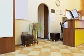 picture of reception-area  - Reception area at the beauty salon - JPG