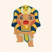 image of pharaohs  - pharaoh theme elements - JPG
