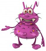image of germs  - Fun germ - JPG