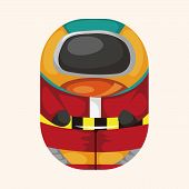 image of spaceman  - spaceman theme elements - JPG